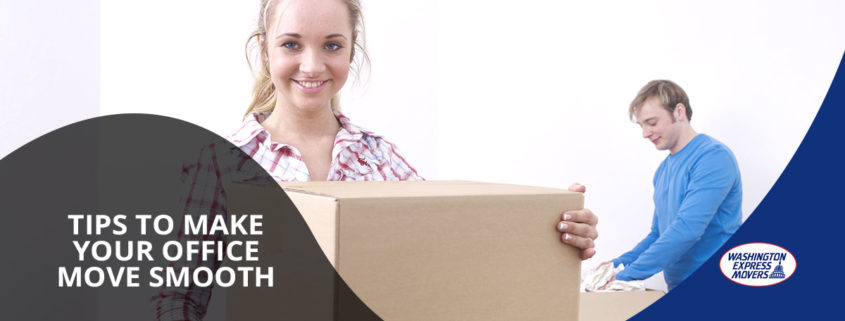 Tips to Make Your Office Move Smooth