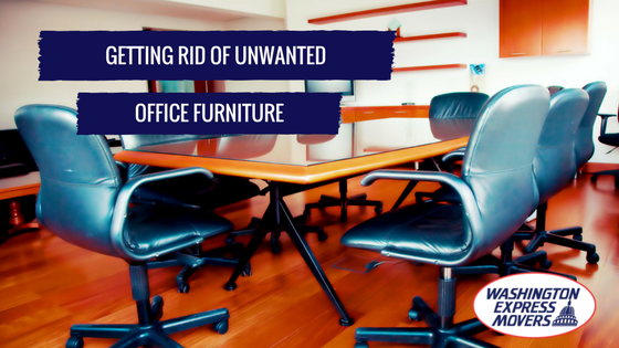 Getting Rid of Unwanted Office Furniture