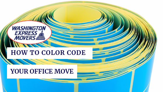 How To Color Code Your Office Move
