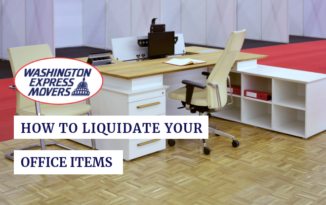 How to Liquidate Your Office Items